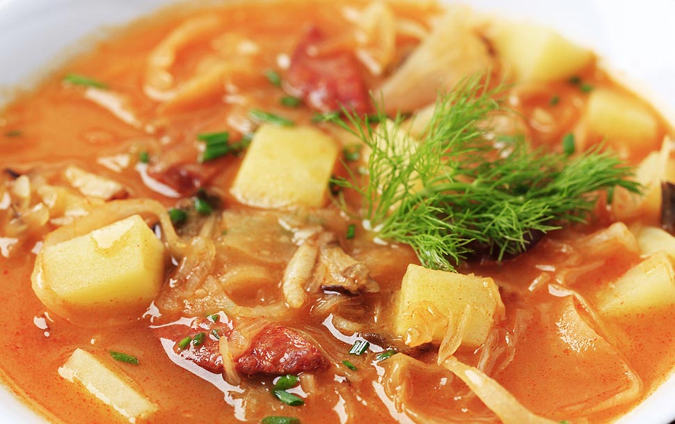 Рецепт супов с квашеной капустой